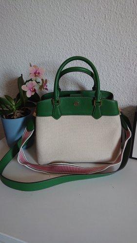 Tory Burch Tasche Canvas Robinson grün