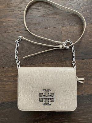 Tory Burch Tasche Cross Body grau / taube neuwertig