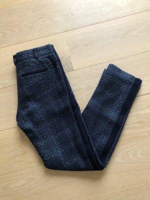 Tory Burch Pantalón de lana azul oscuro-azul