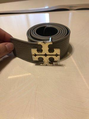 Tory Burch Cintura reversibile grigio chiaro