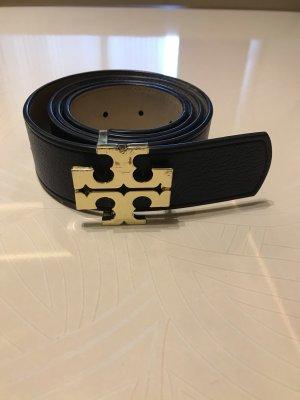 Tory Burch Cintura reversibile blu scuro