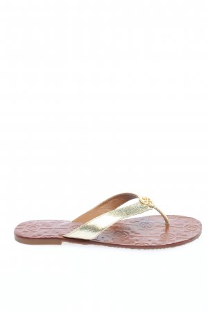 Tory Burch Sandalo toe-post oro stile casual