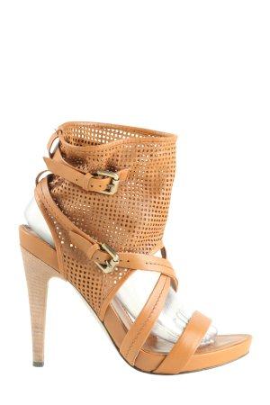 Tosca blu High Heel Sandaletten hellorange extravaganter Stil
