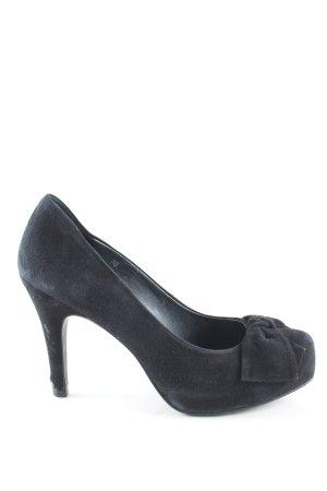 Tosca blu High Heels blau Party-Look
