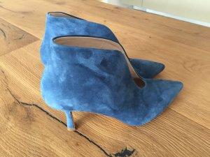 Tosca blu Hoge hakken korenblauw Suede