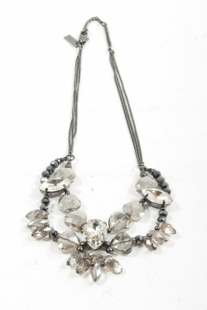 Tosh Collier Necklace silver-colored elegant