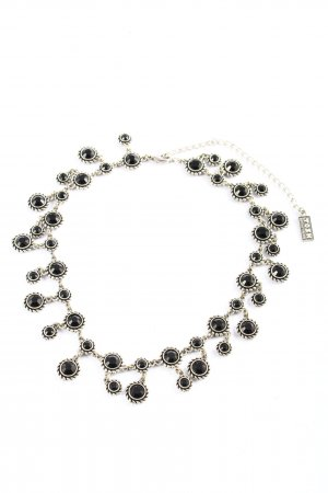 Tosh Collier Necklace black-silver-colored casual look