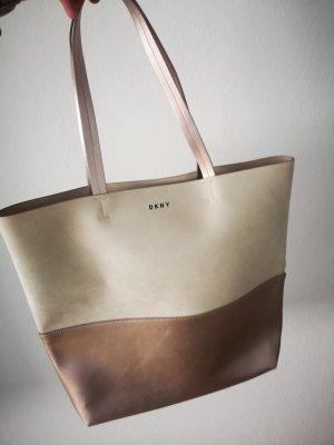 DKNY Sac fourre-tout or rose-brun sable