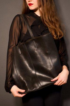 Gusti Leder Sac fourre-tout noir cuir