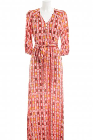 Totem Maxikleid grafisches Muster Casual-Look