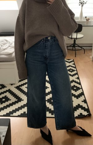 toteme High Waist Jeans blue cotton