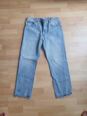 Totême Jeans hellblau High Waist straight leg