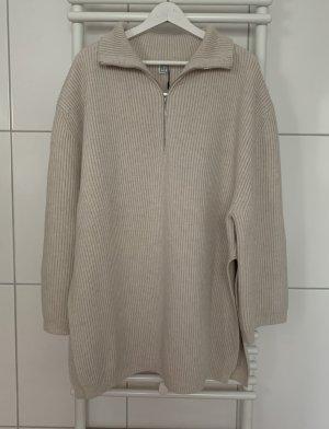 toteme Sweter oversize w kolorze białej wełny Wełna