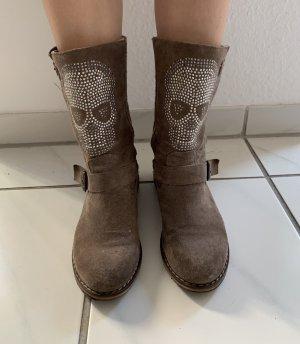 Desert Boots grey brown mixture fibre