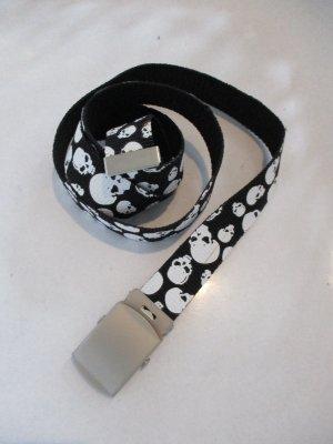 Hip Belt black-white