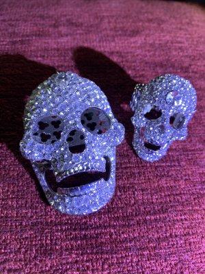 Totenkopf Skull Anhänger und Ring