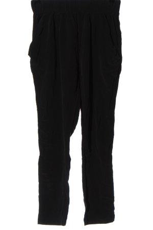 Toupy Pantalone largo nero stile casual