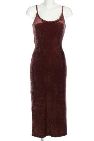 Toupy Midi Dress brown casual look