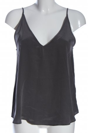Toupy Spaghetti Strap Top light grey casual look