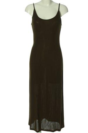 Toupy Pinafore dress khaki elegant