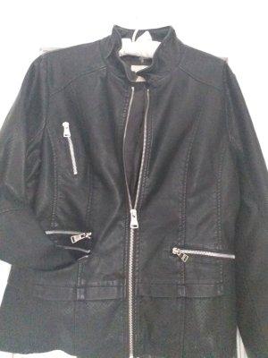 Toxik3 Faux Leather Jacket black polyester