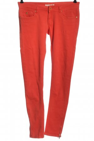 Toxik3 High Waist Jeans red casual look