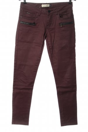 Toxik3 Low Rise Jeans red casual look