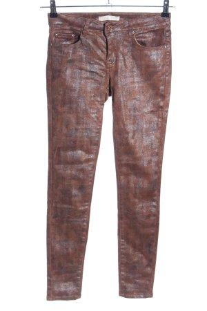 Toxik3 Jeggings bronzefarben Casual-Look