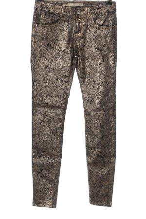 Toxik3 Drainpipe Trousers bronze-colored elegant