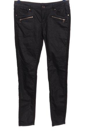 Toxik3 Drainpipe Trousers black casual look