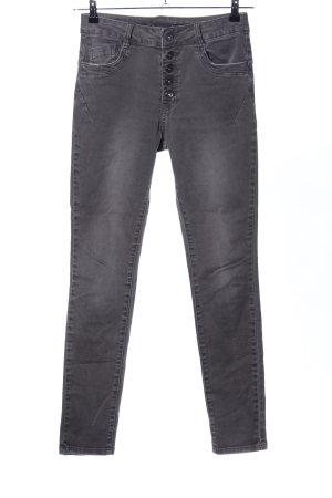 Toxik3 Skinny Jeans hellgrau Casual-Look