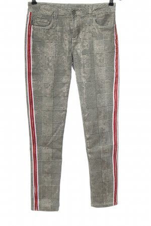 Toxik3 Jersey Pants check pattern casual look
