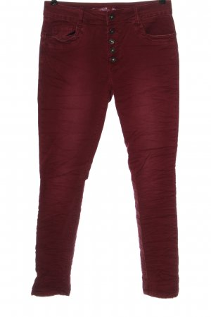 Toxik3 Straight Leg Jeans red casual look