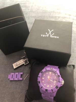 Toy G Self-Winding Watch purple