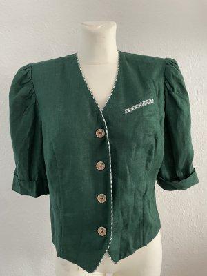Giacca tradizionale verde scuro