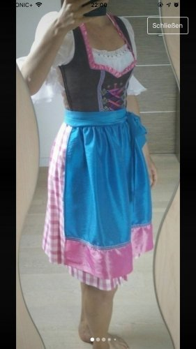 keine ahnung Cut Out Dress multicolored