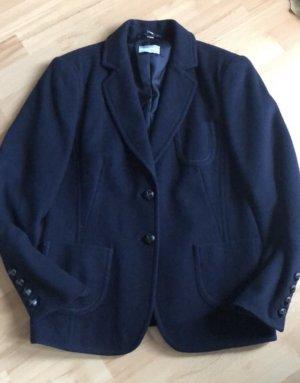 Heine Blazer de lana azul oscuro