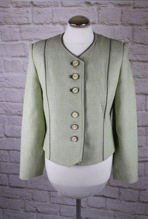 Trachten Blazer Jacke HAGRO Country Größe S 36 Lindgrün Hellgrün Elegant Viskose