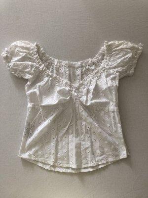 Lola Paltinger Blusa tradizionale bianco