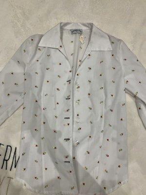 Blusa tradizionale nero-bianco