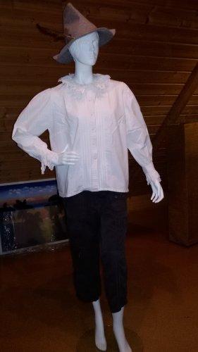 Alphorn Traditional Blouse white