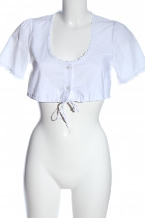 Trachten Deiser Blusa tradizionale bianco elegante