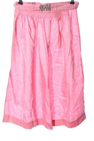 Trachten Deiser Tradycyjny fartuch  różowy Styl klasyczny