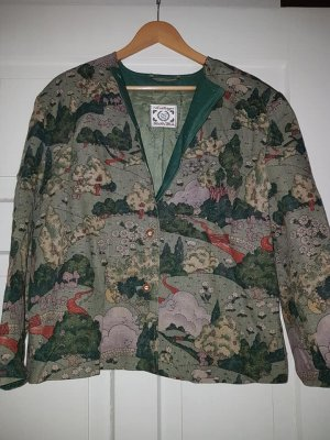 Arzberger Oversized Jacket forest green-white