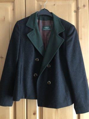 Tradycyjna kurtka zielony-czarny