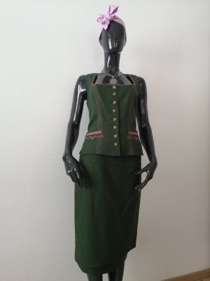 Mode aus Salzburg by h.moser Traditional Camisole forest green