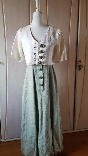 Mothwurf Maxi Dress lime-green linen