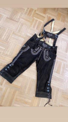 Pantalón folclórico marrón