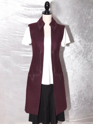 Frock Coat bordeaux