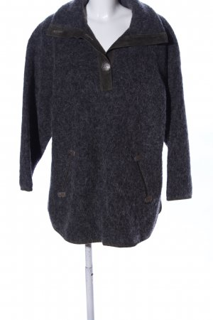 Trachten-Mad'l Traditional Jumper black flecked casual look